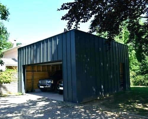 Bien choisir son garage comparatifs installation et - Garage metallique pour voiture ...