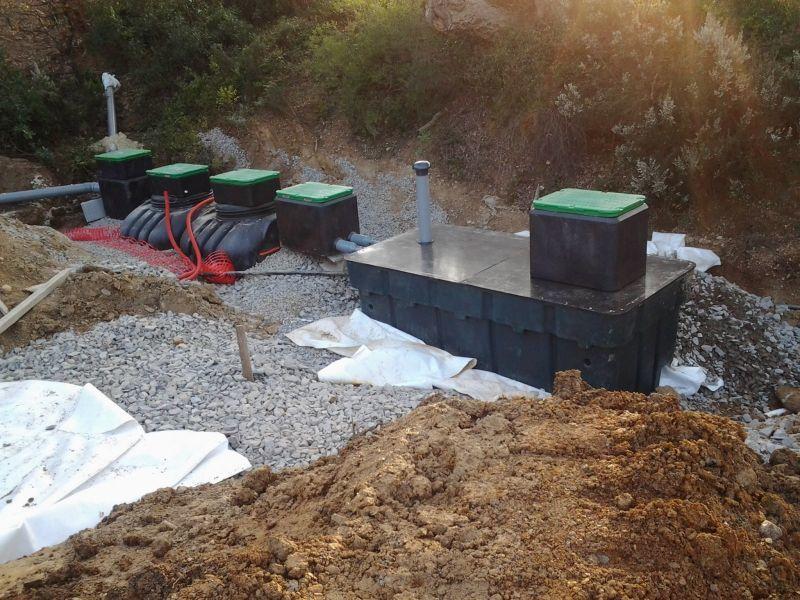 Installation microstation c. Terrassement Terraplant