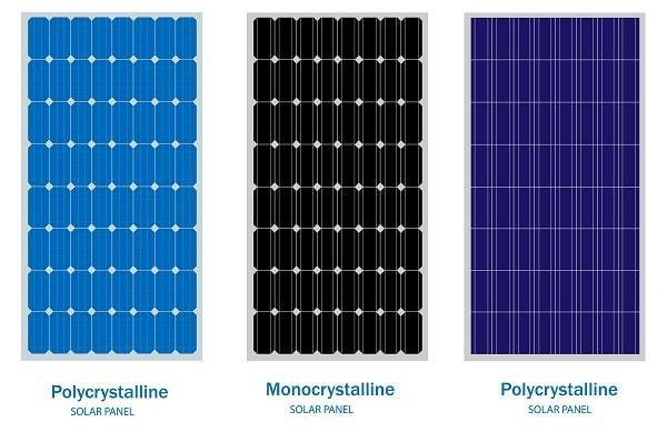 panneau solaire polycristalin