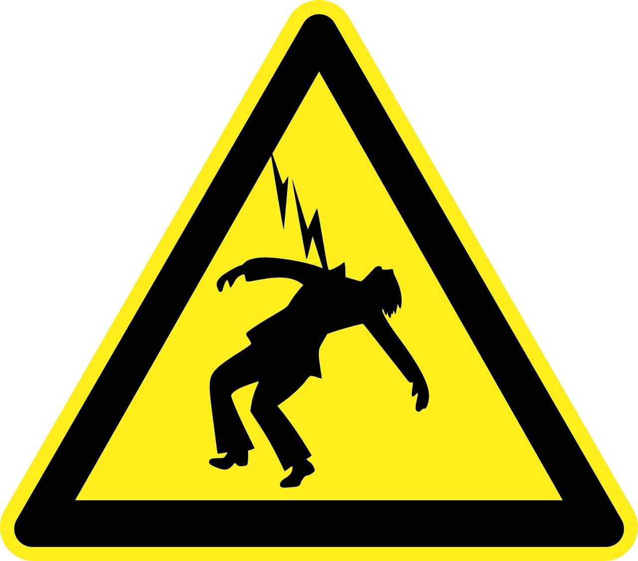 Danger électricité