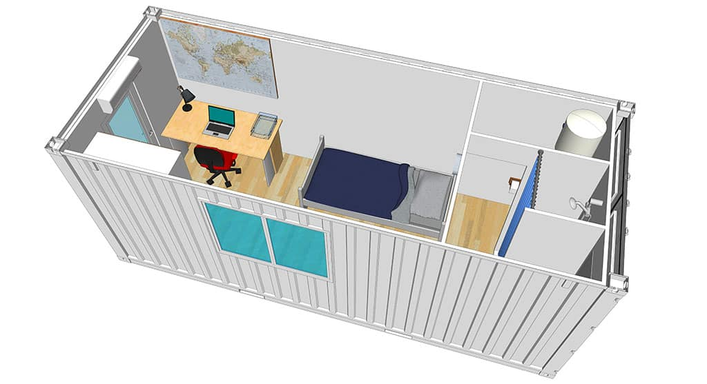 amenagement container