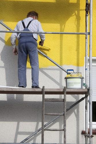 peindre façade