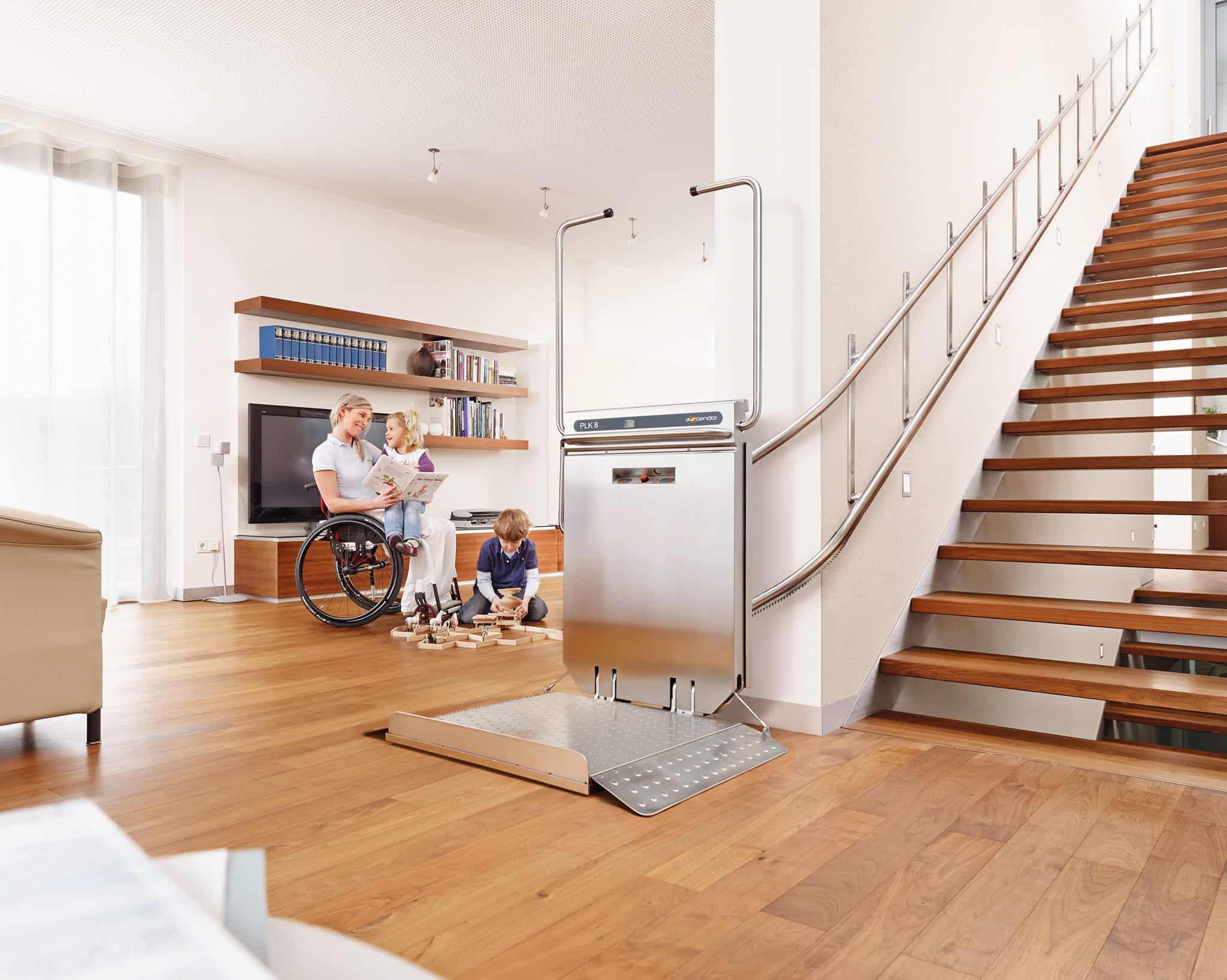 plateforme escalier